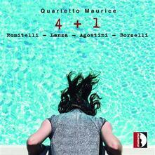 4 + 1 - CD Audio di Fausto Romitelli