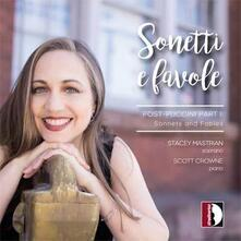 Sonetti e Favole - CD Audio di Roberto Lupi,Stacey Mastrian