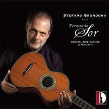 Stefano Grondona Plays Fernando Sor - CD Audio di Joseph Fernando Macari Sor,Stefano Grondona