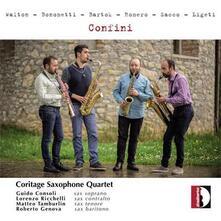 Confini - CD Audio di William Walton,Coritage Saxophone Quartet