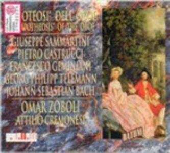 The Apotheosis of the Oboe - CD Audio di Giuseppe Sammartini