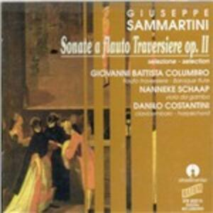 Sonate a Flauto Traversiere op.ii - CD Audio di Giuseppe Sammartini