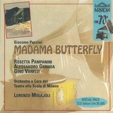 Madama Butterfly - CD Audio di Giacomo Puccini,Lorenzo Molajoli