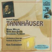 Tannhäuser - CD Audio di Richard Wagner,Karl Elmendorff
