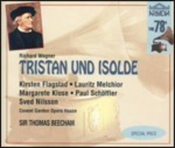 Tristano e Isotta (Tristan und Isolde) - CD Audio di Richard Wagner,Kirsten Flagstad,Lauritz Melchior,Sir Thomas Beecham,Covent Garden Orchestra
