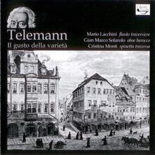 Il Gusto della Varietà - CD Audio di Georg Philipp Telemann