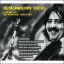 Rememberin' Bicio Live - CD Audio di Paolo Fresu,Pietro Tonolo,Rita Marcotulli,Luigi Bonafede