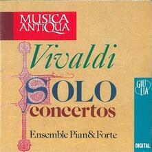 Solo Concertos - CD Audio di Antonio Vivaldi