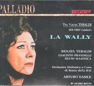 La Wally - CD Audio di Alfredo Catalani