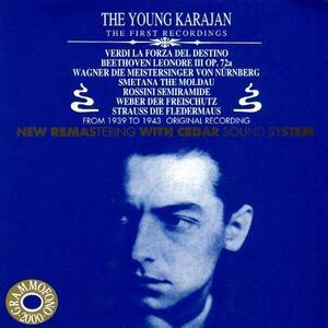 Young Karajan - CD Audio di Giuseppe Verdi,Herbert Von Karajan