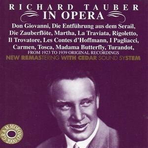 Richard Tauber in Opera - CD Audio di Wolfgang Amadeus Mozart,Richard Tauber