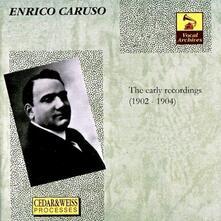 The Early Recordings - CD Audio di Enrico Caruso