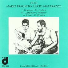 Musica per 2 chitarre - CD Audio di Lucio Matarazzo,Mario Fragnito