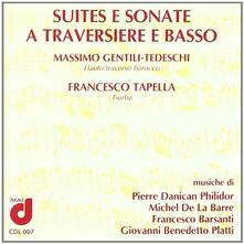 Suites e Sonate a traversiere e basso - CD Audio