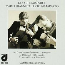 Duo chitarristico Fragnito-Matarazzo - CD Audio di Lucio Matarazzo,Mario Fragnito