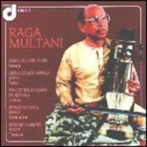 Raga Multani - CD Audio