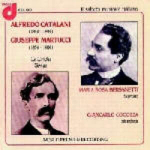 Liriche per voce e pianoforte - CD Audio di Alfredo Catalani,Giuseppe Martucci