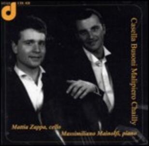 Sonata per violoncello - CD Audio di Alfredo Casella