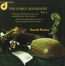 The Early Mandolin vol.2 - CD Audio