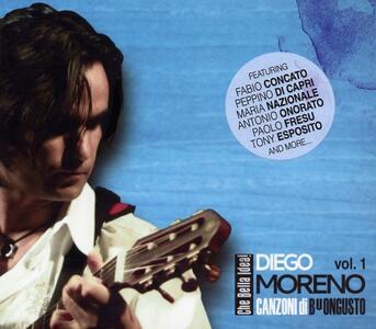 Canzoni di Buongusto vol.1 - CD Audio di Diego Moreno