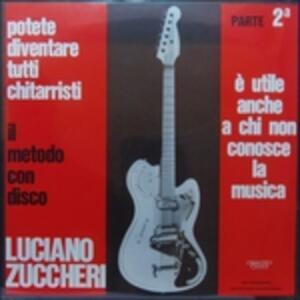 Potete Diventare Tutti Chitarristi vol.2 - Metodo con Disco. - Vinile LP