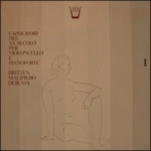Capolavori Del Xx Secolo per Violoncello e Pianoforte - Sonata per Violoncello - Vinile LP di Claude Debussy