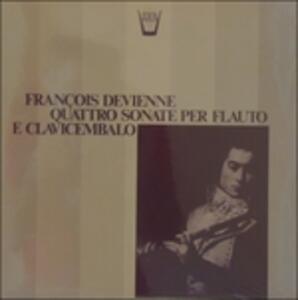 4 Sonate per flauto e clavicembalo - Vinile LP di François Devienne