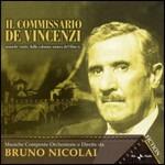 Cover CD Colonna sonora Il commissario de Vincenzi