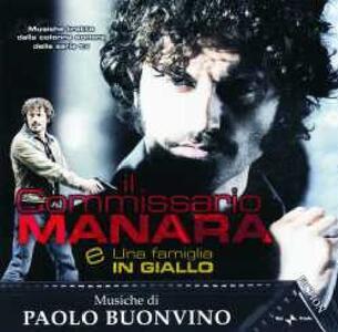 Il Commissario Manara (Colonna Sonora) - CD Audio di Paolo Buonvino