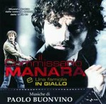 Cover CD Colonna sonora Il commissario Manara 1