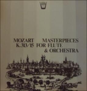 Capolavori per flauto e orchestra - Vinile LP di Wolfgang Amadeus Mozart