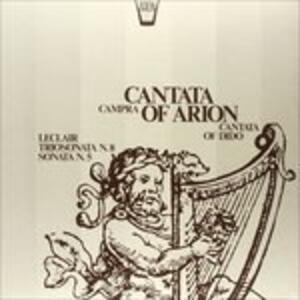 Cantata. Arion, Dido - Vinile LP di André Campra