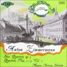 Quartetti per archi op.3 vol.1 - CD Audio di Bernd Alois Zimmermann