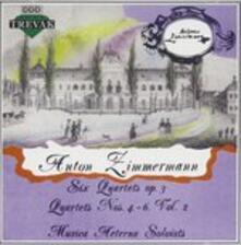 Quartetti per archi op.3 vol.2 - CD Audio di Bernd Alois Zimmermann