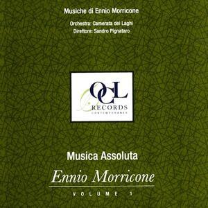 Musica assoluta - Quattro anacoluti per AV - Se questo è un uomo - Braevissimo 1-3 - Esercizi per archi - Grido - CD Audio di Ennio Morricone,Orchestra Camerata dei Laghi,Sandro Pignataro