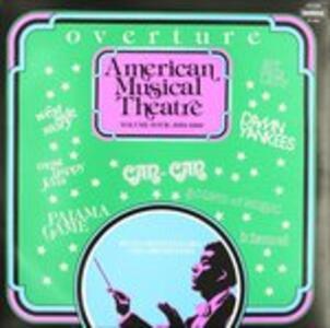 Ouverture - American Musical Theatre vol.4 - 1953-1960 - Vinile LP di Hugo Montenegro