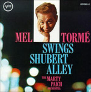 Swings Shubert Alley - Vinile LP di Mel Tormé