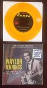My Baby Walks All Over Me - Vinile 7'' di Waylon Jennings