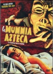 La mummia Azteca. Il risveglio della mummia<span>.</span> Limited Edition di Rafael Portillo - DVD