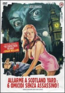 Allarme a Scotland Yard: sei omicidi senza assassino di Jess Frank - DVD