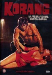 Korang, la terrificante bestia umana di Richard Green,René Cardona Sr. - DVD