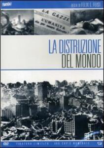 La distruzione del mondo<span>.</span> Ed. limitata e numerata di Felix E. Feist - DVD