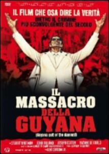 Il massacro della Guyana<span>.</span> Ed. limitata e numerata di René Cardona Jr. - DVD