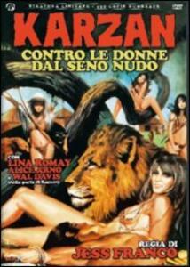 Karzan contro le donne dal seno nudo<span>.</span> Ed. limitata e numerata di Jess Jesus Franco - DVD