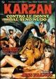 Cover Dvd DVD Karzan contro le donne dal seno nudo