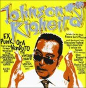 Ex punk, ora venduto - CD Audio di Johnson Righeira