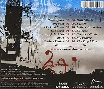 The Last Ones - CD Audio Singolo di Sun Eats Hours - 2