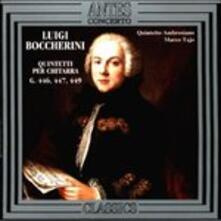 Quintetti per Chitarra 3 - CD Audio di Luigi Boccherini