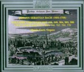 Toccate e Fughe - CD Audio di Johann Sebastian Bach,Alessio Corti