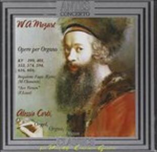 Die Orgelwerke - CD Audio di Wolfgang Amadeus Mozart